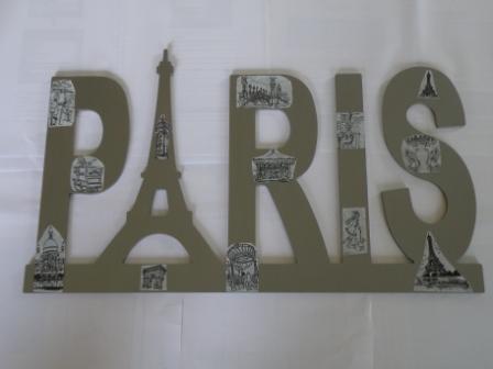 Avec des objets en bois page 2 - Deco chambre paris fille ...