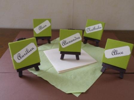 Pour une communion - Decoration de table pour communion garcon ...